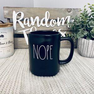 NWT Rae Dunn NOPE Mug
